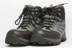 Bottes de trekking Photographie stock libre de droits