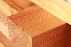 Bottes récupérées de bois de construction de sapin Photos stock