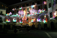Botticelli lights Stock Images