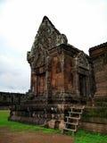 Bottich Phou-Ruinen während der grünen Jahreszeit in Champasak, Laos Lizenzfreie Stockfotografie