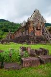 Bottich Phou-Tempel in Laos stockbild