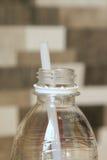 Bottiglia aperta Fotografia Stock Libera da Diritti