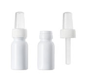 Bottiglia del contagoccia della medicina Fotografia Stock Libera da Diritti