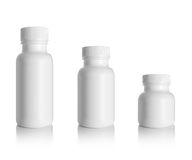 Bottiglia in bianco della medicina Fotografia Stock Libera da Diritti