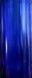 Bottiglia blu Immagine Stock