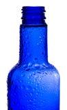 Bottiglia blu Immagini Stock