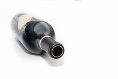 Bottiglia caduta immagini stock