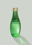 Bottiglia con acqua Fotografie Stock