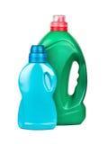 Bottiglia con il lavaggio del gel Fotografie Stock