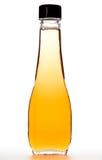 Bottiglia con l'aceto del Apple Fotografia Stock Libera da Diritti