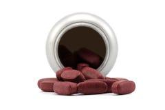 Bottiglia con le pillole Immagine Stock Libera da Diritti