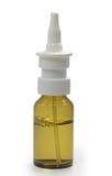 Bottiglia con medicina Immagini Stock