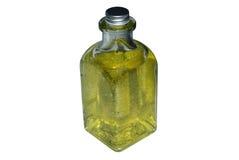 Bottiglia con sapone immagine stock