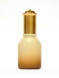 Bottiglia cosmetica Fotografia Stock