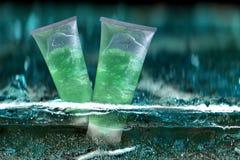 Bottiglia cosmetica Fotografia Stock Libera da Diritti