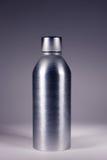 Bottiglia d'acciaio Immagini Stock