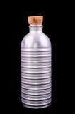 Bottiglia d'annata antica dell'alluminio del metallo Fotografia Stock Libera da Diritti