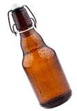 Bottiglia da birra del Brown (birra tedesca) Fotografie Stock Libere da Diritti