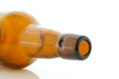 bottiglia da birra della Lanciare-parte superiore Fotografia Stock Libera da Diritti