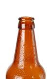 Bottiglia da birra vuota fotografia stock