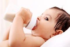 Bottiglia del bambino Fotografia Stock Libera da Diritti