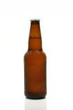 Bottiglia del Brown di birra Immagini Stock