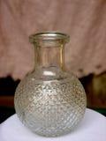 Bottiglia del decantatore senza tappo Fotografie Stock
