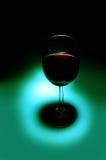 Bottiglia del gemito rosso Fotografie Stock