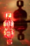 Bottiglia del laser Fotografia Stock Libera da Diritti