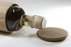 Bottiglia del primo piano Fotografia Stock
