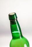 Bottiglia del sidro Fotografia Stock