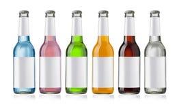 Bottiglia del succo Immagini Stock Libere da Diritti