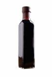 Bottiglia dell'all'aceto balsamico Immagini Stock
