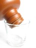 Bottiglia dell'argilla Fotografia Stock Libera da Diritti