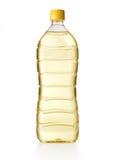 Bottiglia dell'olio da cucina Fotografia Stock