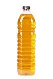 Bottiglia dell'olio di oliva Fotografie Stock