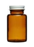 Bottiglia della droga Fotografie Stock Libere da Diritti
