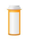 Bottiglia della medicina Immagine Stock