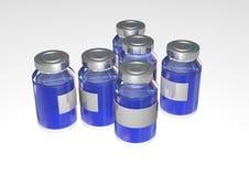 Bottiglia della medicina Fotografie Stock Libere da Diritti