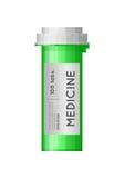 Bottiglia della medicina Immagini Stock Libere da Diritti