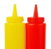 Bottiglia della salsa Fotografia Stock
