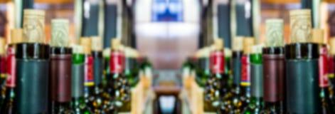 bottiglia della vite della sfuocatura Fotografia Stock Libera da Diritti