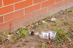Bottiglia della vodka Fotografie Stock Libere da Diritti