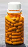 bottiglia delle pillole della medicina Immagine Stock Libera da Diritti