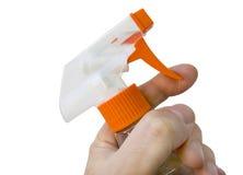 Bottiglia dello spruzzo Fotografie Stock