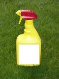 Bottiglia dello spruzzo del diserbante Fotografie Stock