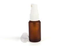 Bottiglia dello spruzzo di Brown Fotografia Stock