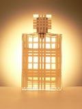 Bottiglia dello spruzzo di profumo Fotografie Stock Libere da Diritti