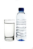 Bottiglia di acqua Fotografie Stock