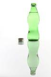 Bottiglia di acqua aperta Fotografia Stock